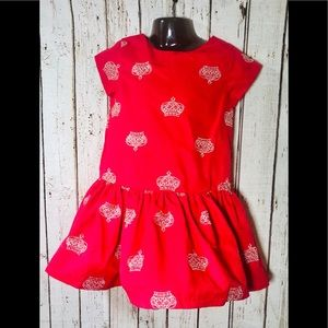 Royal Crown Red Dress